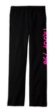 "Girl Scouts Troop 798 ""Troop 798"" Design Pants with pockets (Black)"