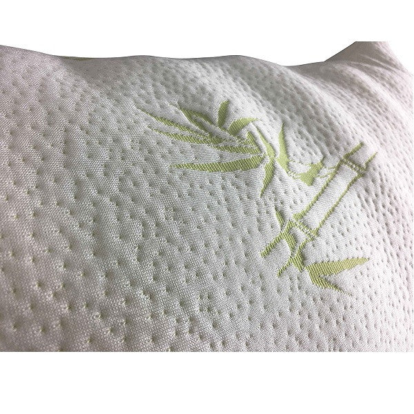 Shredded Memory Foam Pillow - Designed For Back and Side Sleepers