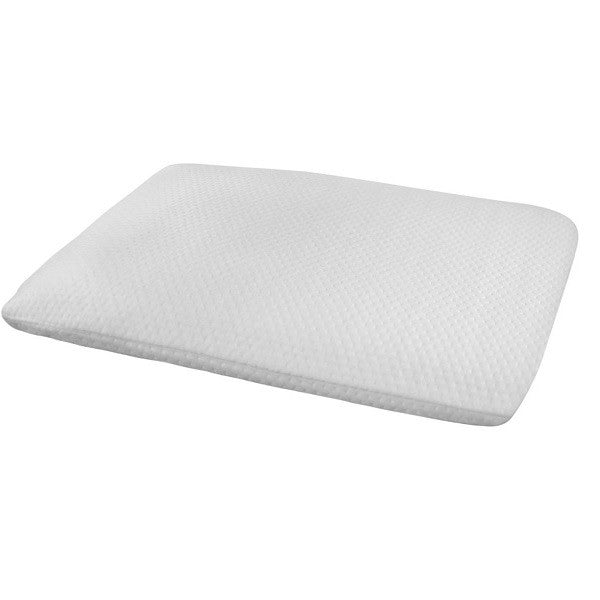 Ultra Slim (Thin) Sleeper Memory Foam Pillow for Stomach & Back Sleepers