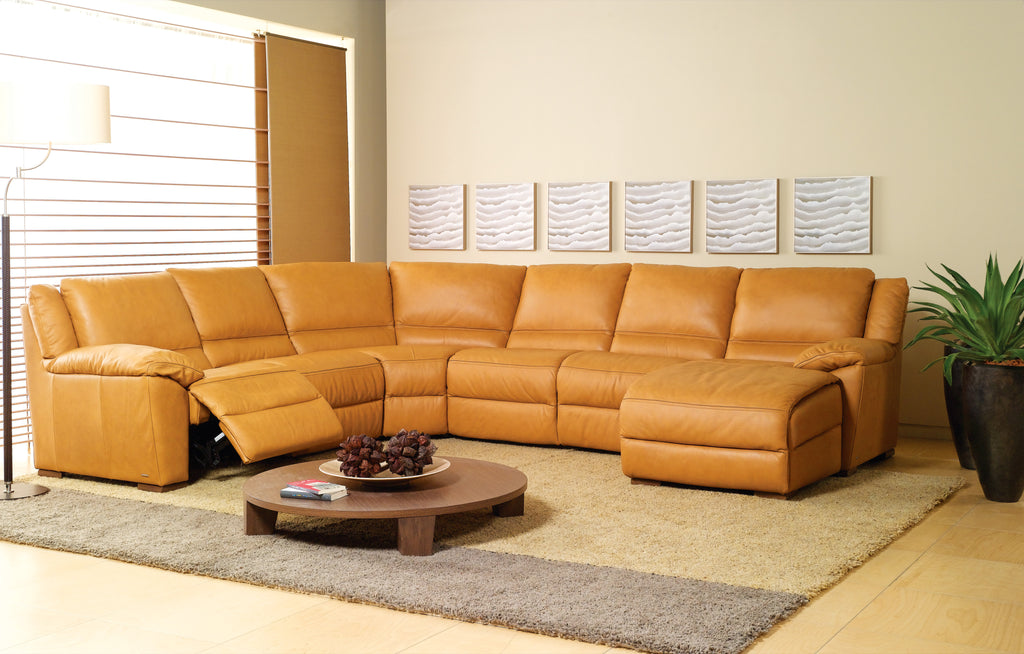 IMAGES | Natuzzi Editions Giuseppe A319 : leather sectional natuzzi - Sectionals, Sofas & Couches