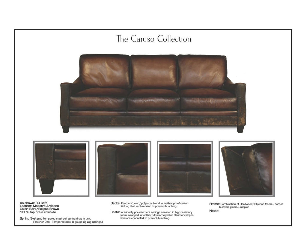 Caruso Leather Showroom