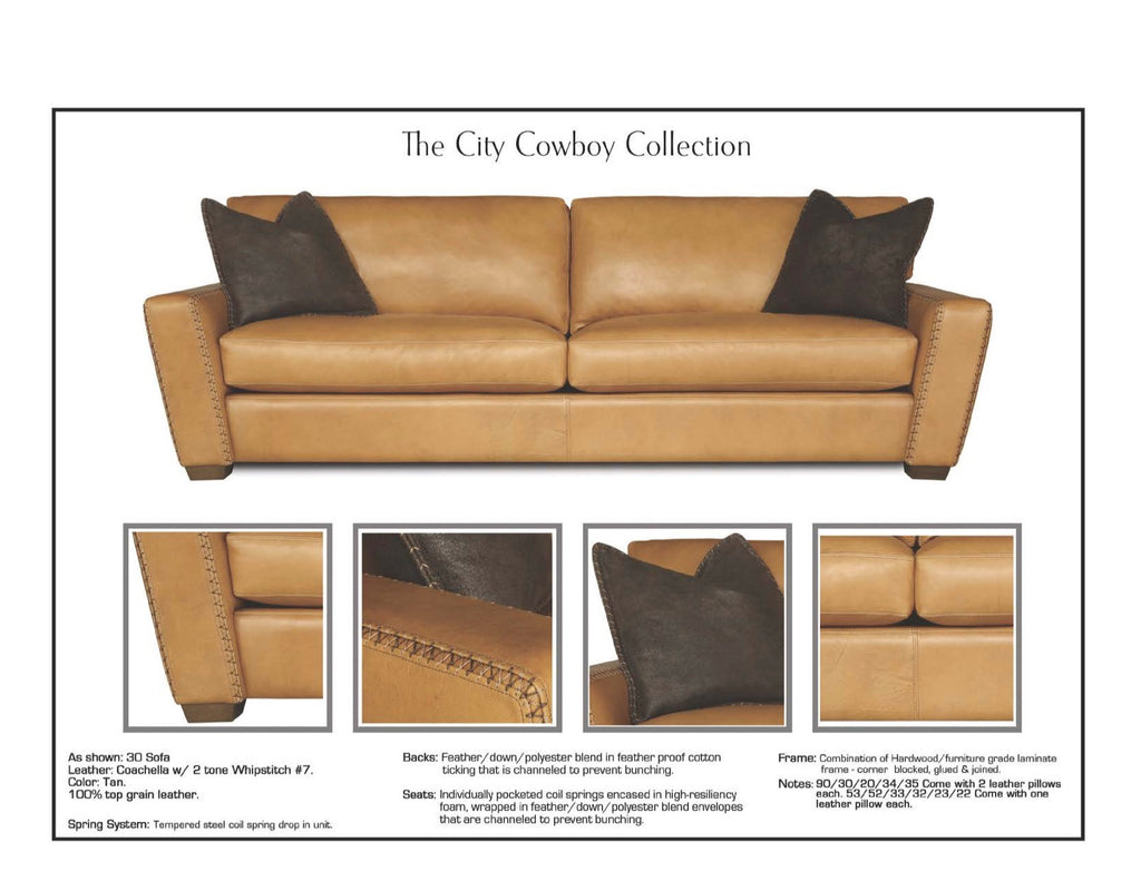 Terrific City Cowboy Leather Showroom Squirreltailoven Fun Painted Chair Ideas Images Squirreltailovenorg
