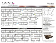 IMAGES | Omnia Leather Venetian Reclining