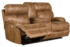 Barcalounger Barclay Reclining Loveseat w/ power headrest  SHIPPING NOT INCLUDED