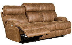 Barcalounger Barclay Reclining Sofa w/ power head rest  SHIPPING NOT INCLUDED