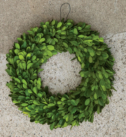 "Boxwood Wreath, 11"" Dia."