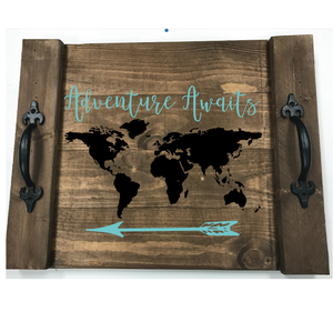 ADVENTURE AWAITS: FARMHOUSE TRAY DESIGN - Paisley Grace Designs