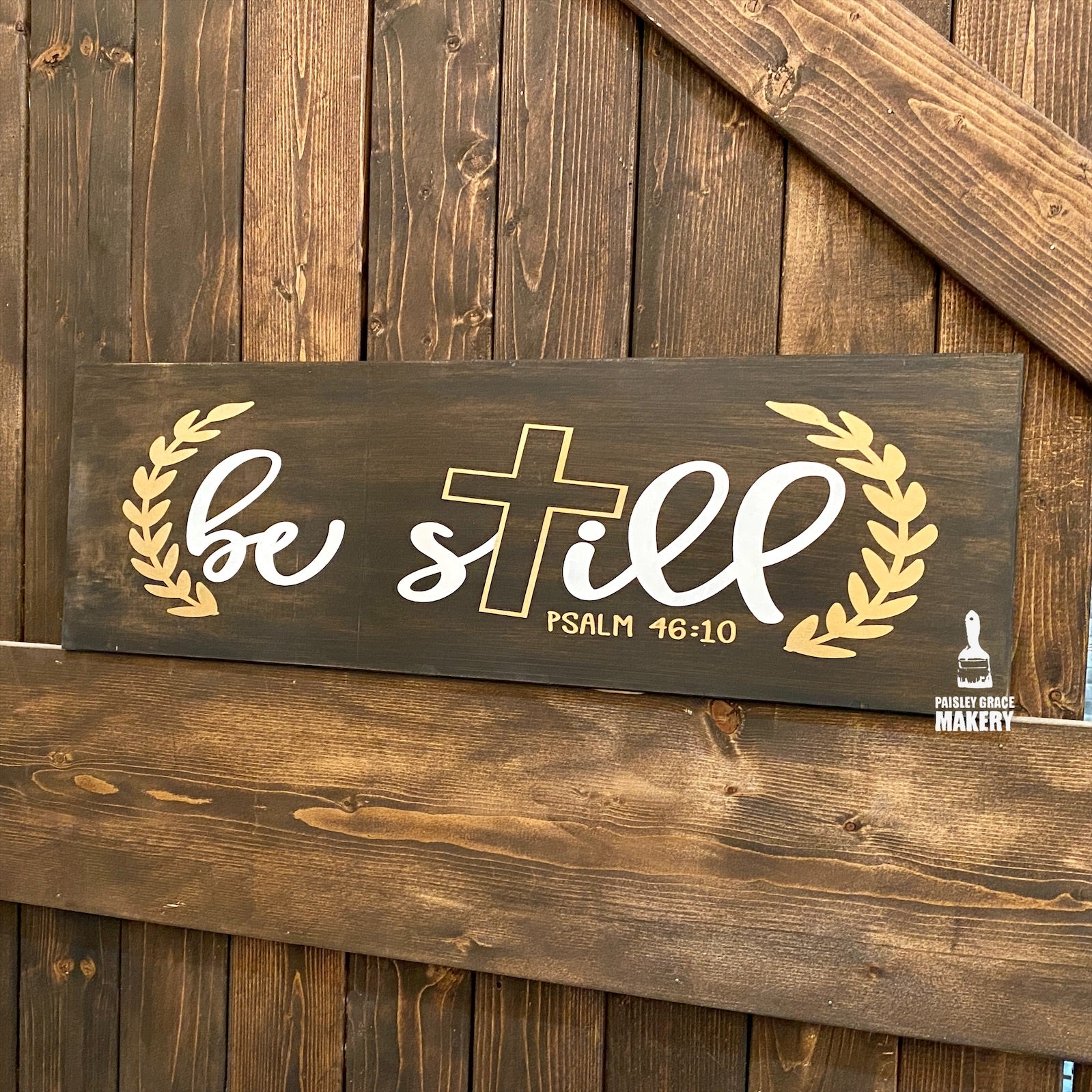 Be Still: PLANK DESIGN - Paisley Grace Designs