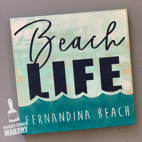 BEACH LIFE: MINI DESIGN - Paisley Grace Designs