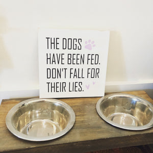 THE DOGS HAVE BEEN FED: MINI Design - Paisley Grace Designs