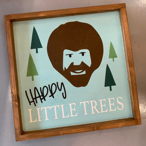 Happy Little Trees Bob Ross: MINI DESIGN - Paisley Grace Designs