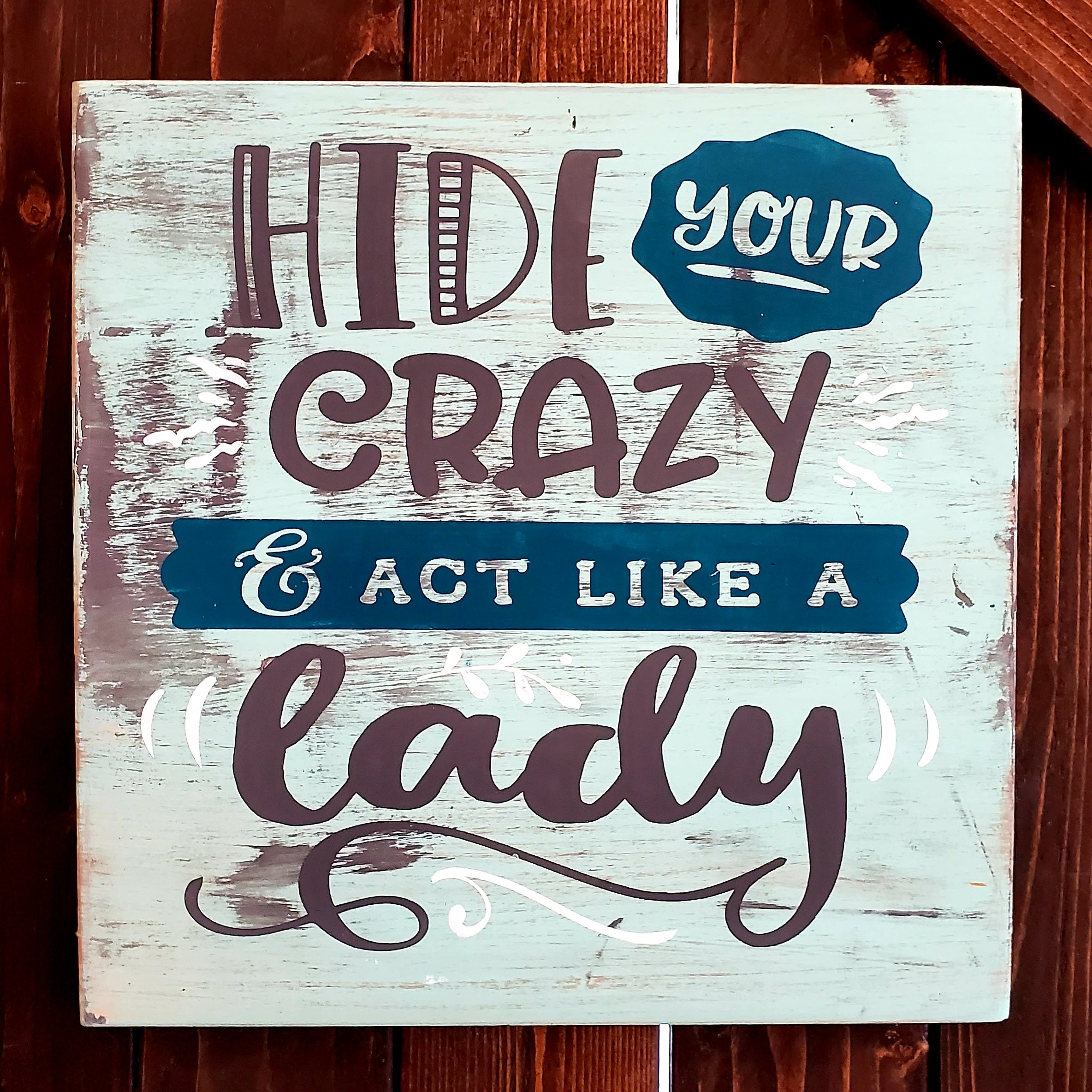 Hide Your Crazy & Start Acting Like a Lady: SQUARE DESIGN