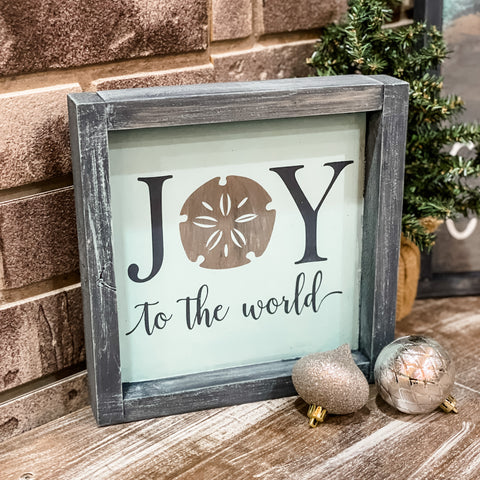 JOY to the World with Sanddollar: MINI DESIGN
