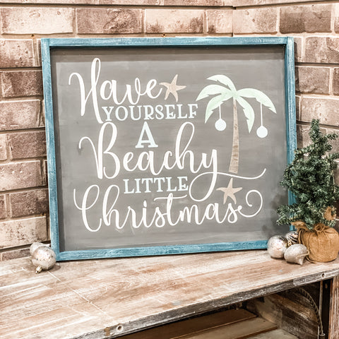 Have Yourself a Beachy Little Christmas: SIGNATURE DESIGN