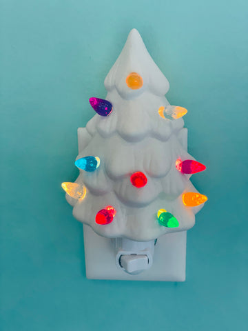 Tree Nightlight: Ceramics