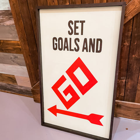 Set Goals and GO: SIGNATURE DESIGN