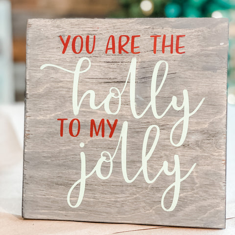 You are the Holly to my Jolly: MINI DESIGN