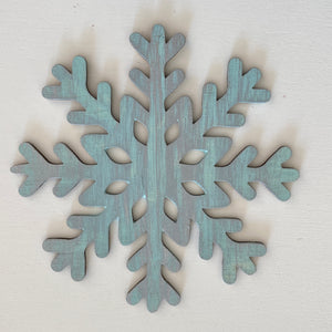 Snowflake:  Interchangeable Shape - Paisley Grace Designs