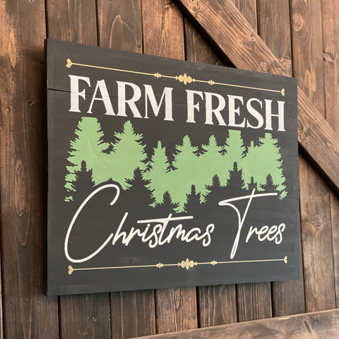 Farm Fresh Christmas Trees Vintage: Signature Design