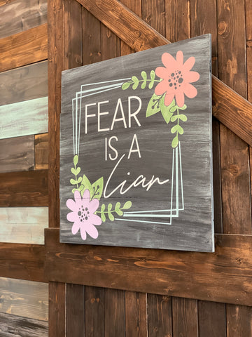 Fear is a Liar: SQUARE DESIGN