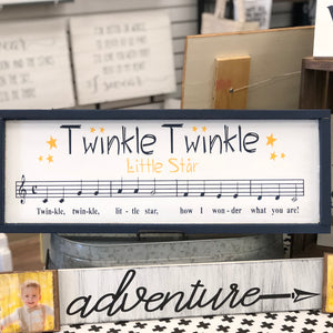 TWINKLE TWINKLE: SHEET MUSIC DESIGN - Paisley Grace Designs