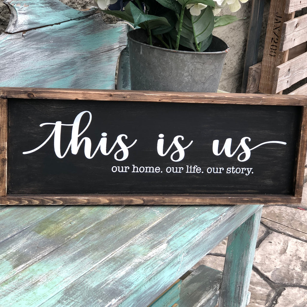 THIS IS US: PLANK DESIGN - Paisley Grace Designs