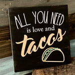 All you Need is Love and Tacos: MINI DESIGN