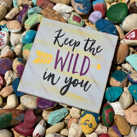Keep the Wild in You: MINI DESIGN - Paisley Grace Designs