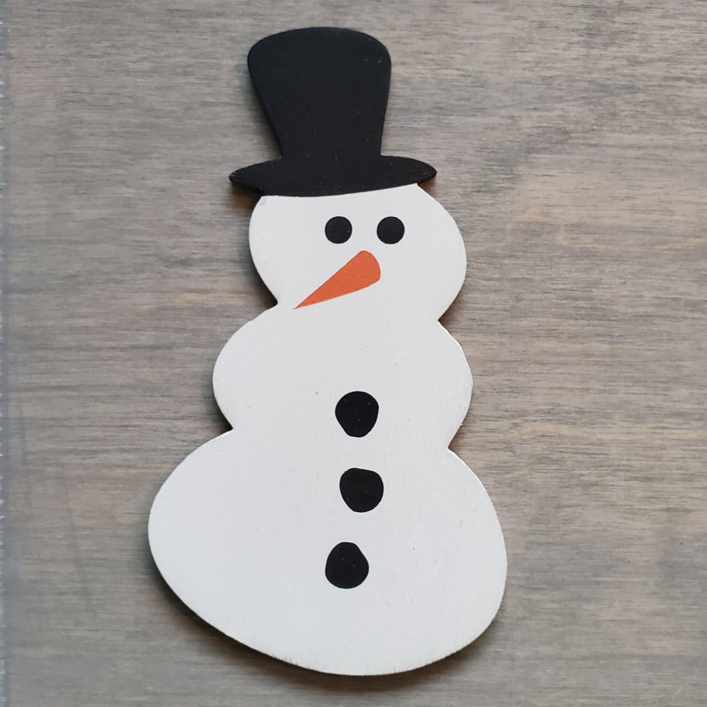 Snowman:  Interchangeable Shape - Paisley Grace Designs