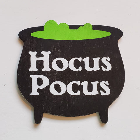 Hocus Pocus Cauldron:  Interchangeable Shape - Paisley Grace Designs