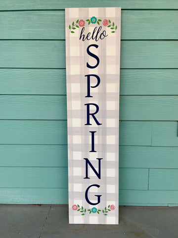 Hello Spring Vertical 2020: Plank Design