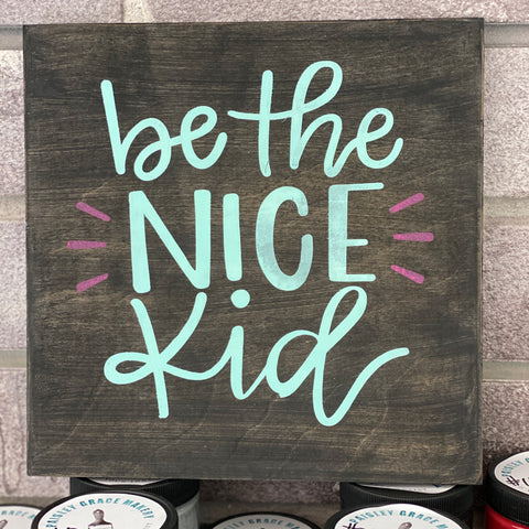 Be the Nice Kid: MINI DESIGN