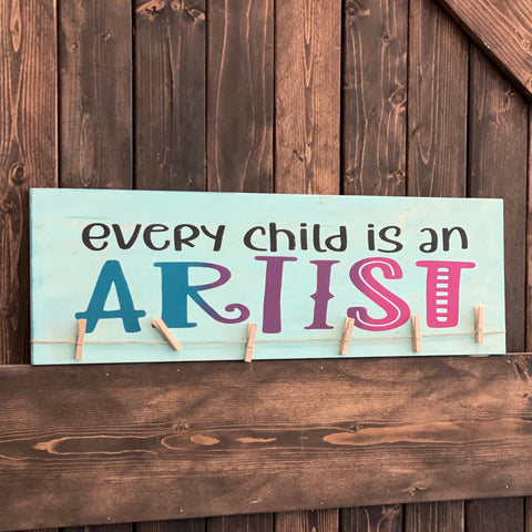 Every Child Is an Artist: Plank Design