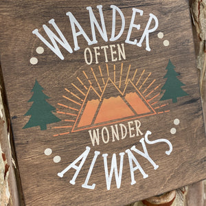 Wander Often Wonder Always: SQUARE DESIGN
