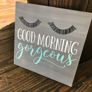 GOOD MORNING GORGEOUS: SQUARE DESIGN - Paisley Grace Designs