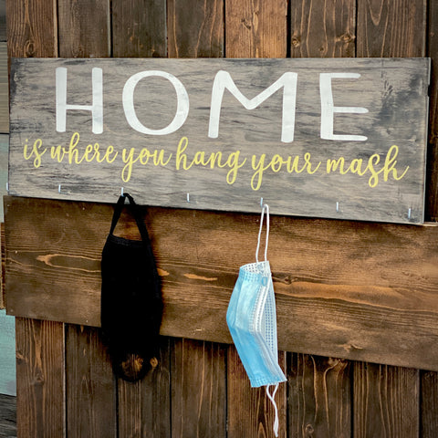 Home is where you where you hang your mask: Plank Design