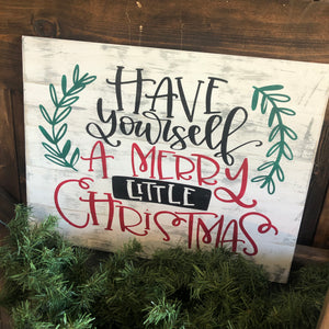 HAVE YOURSELF A MERRY LITTLE CHRISTMAS: SIGNATURE DESIGN - Paisley Grace Designs