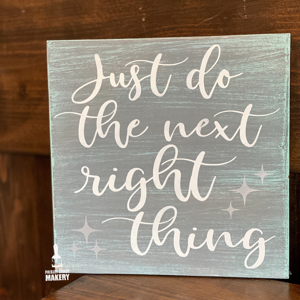 Just do the next right thing: MINI DESIGN - Paisley Grace Designs
