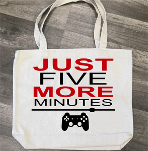 Just Five More Minutes: Canvas Bag/Pillow Design - Paisley Grace Designs