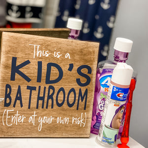This is a Kid Bathroom: MINI DESIGN