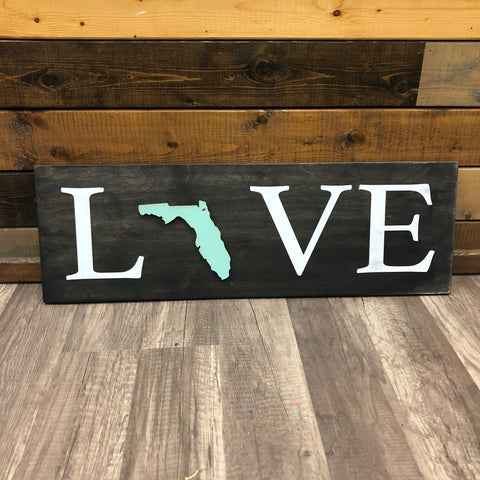 LOVE Horizontal Plank: INTERCHANGEABLE DESIGN - Paisley Grace Designs