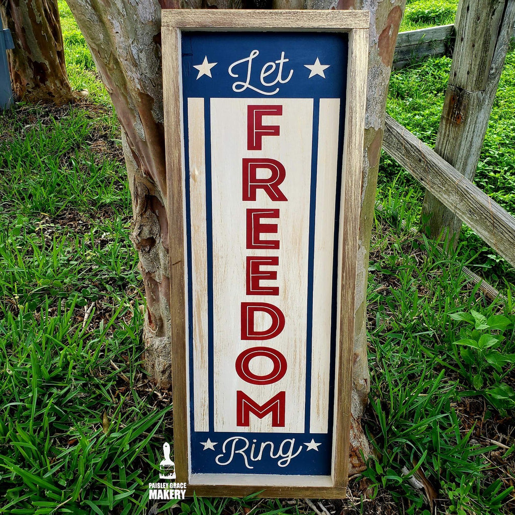 Let Freedom Ring: PLANK DESIGN