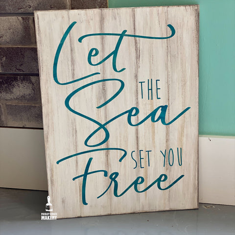 Let the Sea set you Free: Signature Design