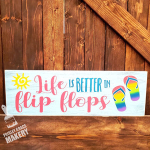 Life is Better in Flip Flops: PLANK DESIGN - Paisley Grace Designs