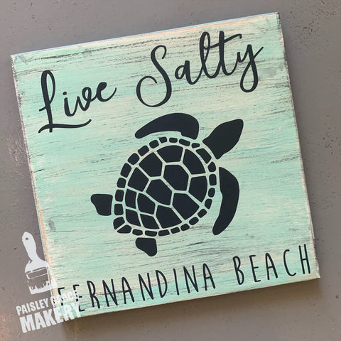 LIVE SALTY: MINI DESIGN - Paisley Grace Designs