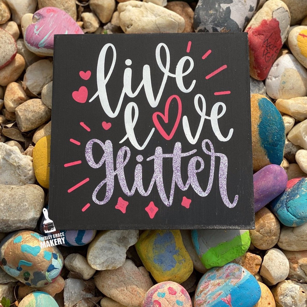 Live Love Glitter: MINI DESIGN - Paisley Grace Designs