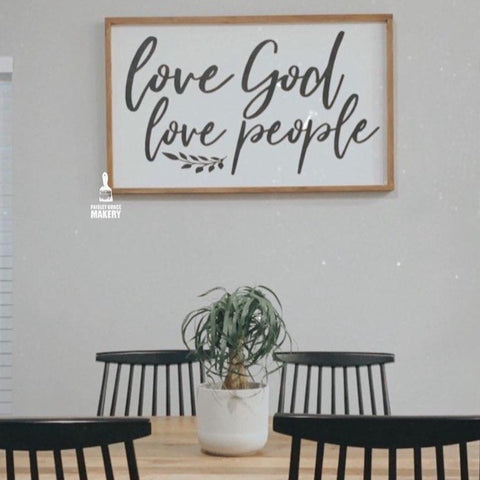 Love God Love People: Signature Design - Paisley Grace Designs