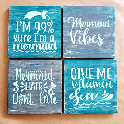 Mermaid 4 Pack Take and Make Kit