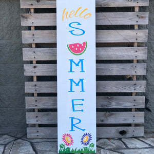 HELLO SUMMER: PLANK DESIGN - Paisley Grace Designs