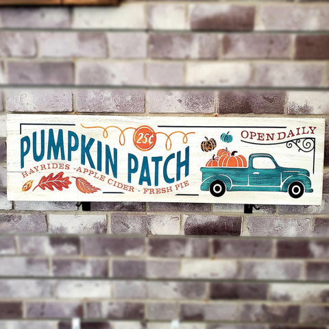 Pumpkin Patch Truck: Plank Design